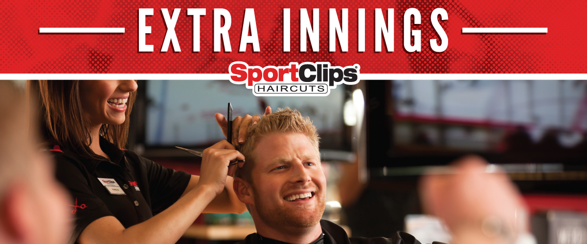 The Sport Clips Haircuts of Village at Stone Oak Extra Innings Offerings